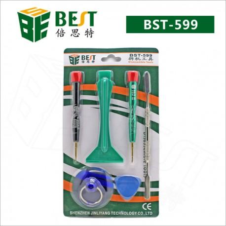 BST-599 STRUMENTI PER RIPARAZIONI IPHONE 4 4S 3GS KIT 6 PEZZI