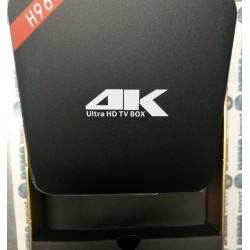 TV BOX ANDROID H96 2GB RAM 4 CORE 4K UHD ANDROID 7.1 NUGAT IPTV KODI SMART TV