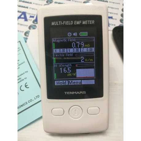 ELETTROSMOG TESTER,MISURATORE CAMPI MAGNETICI DA 50 mhz A 3.5 ghz TM-190 tenmars