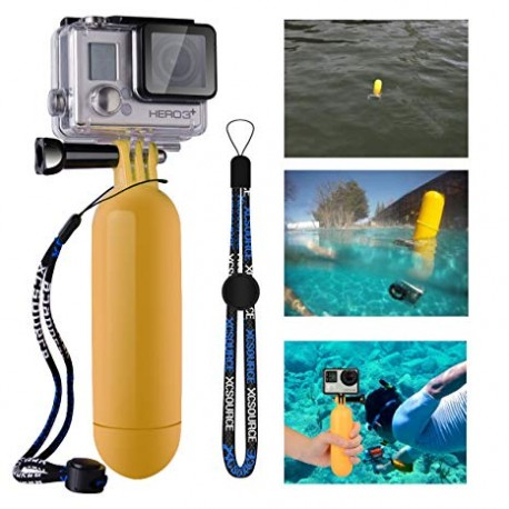 GALLEGGIANTE MARE SUPPORTO GOPRO ACTION CAMERA GIALLO COMPATIBILE