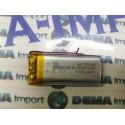 batterie a litio di polimeri mha e misure per dispositivi elettronici arduino,500mha