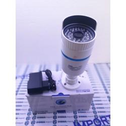 TELECAMERA AHD SORVEGLIANZA INFRAROSSI 48 LED 3,6mm 3 mp 7548 ALIMENTATORE