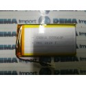 BATTERIA LiPo polimeri Li-Ion Batteria Cella per GPS MP3 3.7 v 750 mha