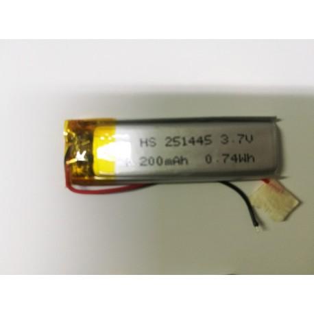 BATTERIA LiPo polimeri Li-Ion Batteria Cella per GPS MP3 3.7 v 200 mha