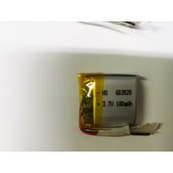 BATTERIA LiPo polimeri Li-Ion Batteria Cella per GPS MP3 3.7 v 180 mha