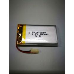 BATTERIA 400 mAh al polimeri di litio a celle 3,7 volt per varie mAh droni modellismo