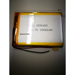 batterie a litio di polimeri varie mha per mp4 cuffie orologi gps 3.7 v digitale