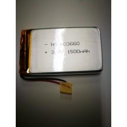 batteria a litio di polimeri 3.7 v 1500mha gps auricolari rc arduino bluetooth H