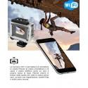 ACTION SPORTS CAM VIDEOCAMERA HD 1080 WIFI CON TELECOMANDO GO pro waterproof sub