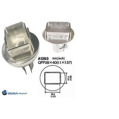 Ugello aria calda per la stazione ATTEN 8586 Modello A1263 Dimensioni 39, X 27,9