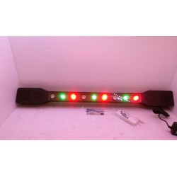 SOUND STAGE LIGHTS BLUETOOTH CASSE 9 LUCI LED PARTY USB-TF CARD TELECOMANDO
