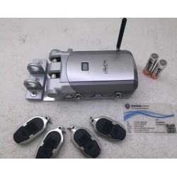 Serratura di sicurezza Invisibile GHOST LOCK 4 radiocomandi -garantita 2 anni