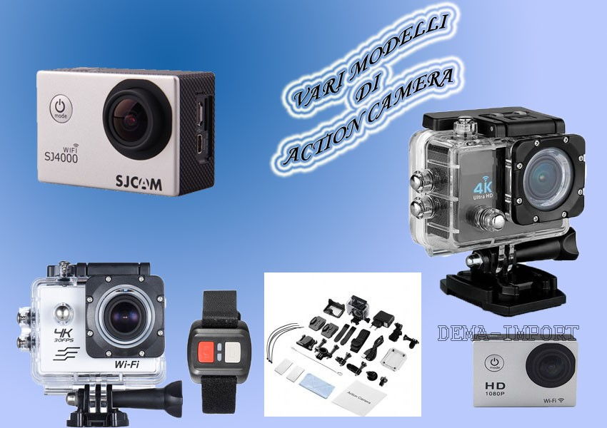 CAMERA SUBAQUEA 30 MT FOTO E VIDEO FULL 4 K