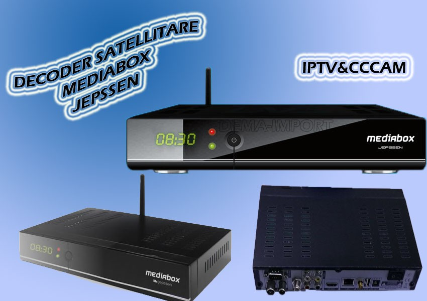 DECODER SAT TVB-T2 Advanced OS Linux & Internet in TV COMBO MediaBox HD-WIFI
